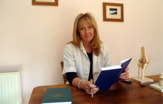 Image of Kathy Evans of Osteopathy Mumbles